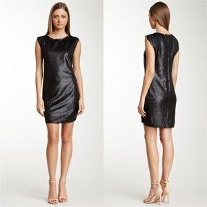 Rebecca Taylor Allover Sequin Dress